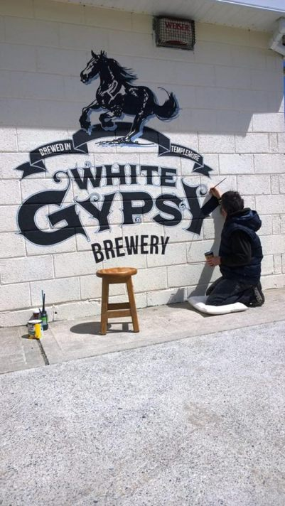White Gypsy Brewery - Image 2 of Art Work