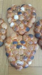 Brioche Buns - Baked