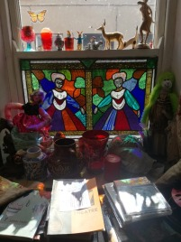 Stained Glass in Kate's home